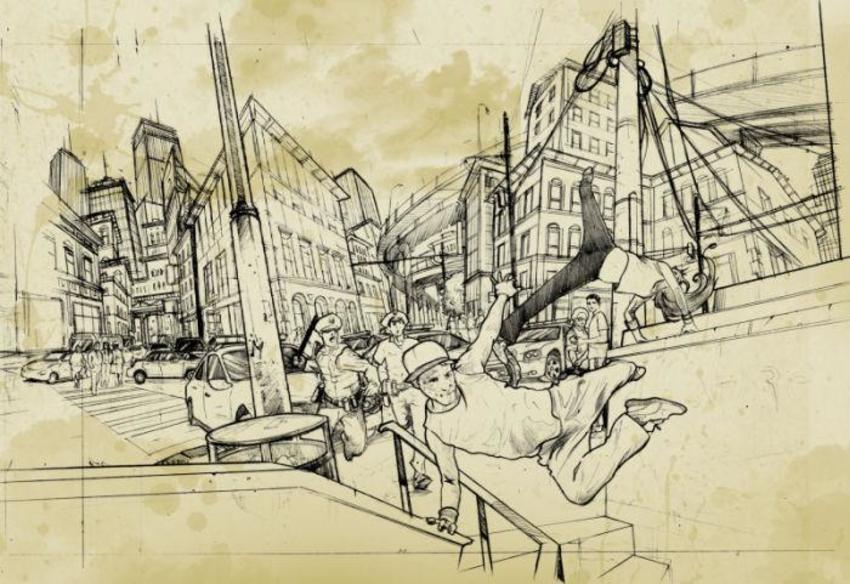 Parkur-concept Art