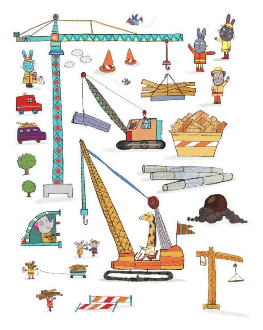 cranes stickers kts.psd