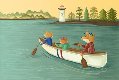 children-book-foxes-lighthouse