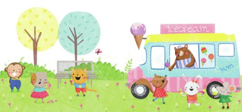 Icecream Van - Gina Maldonado