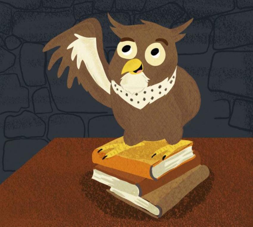 Kev Payne Portfoliowise Owl On Books