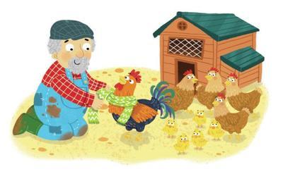 farm-chickens-hen-cockerel