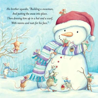 mice-building-a-snowman