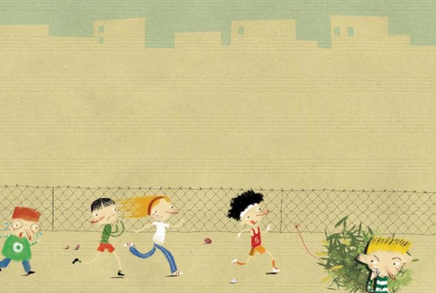 PB139 Kids Running