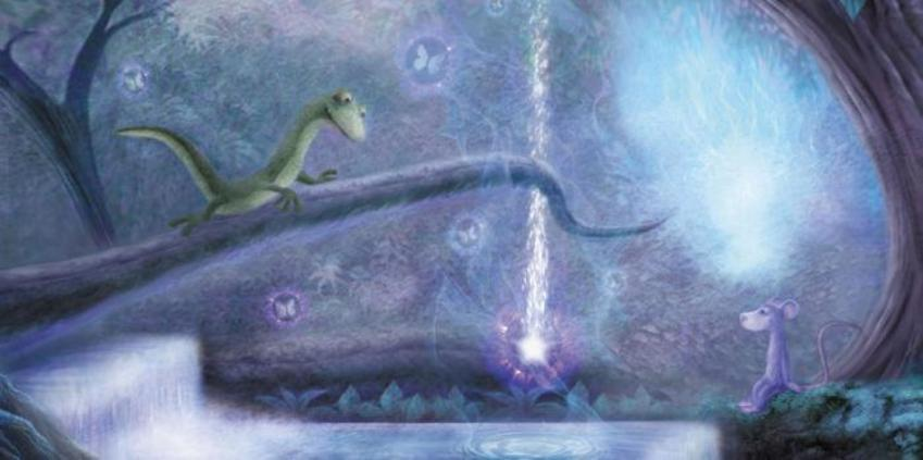 Stardust Lizard And Mouse