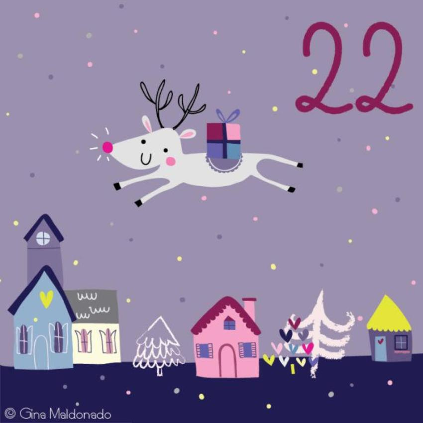 22 - Flying Reindeer - GM