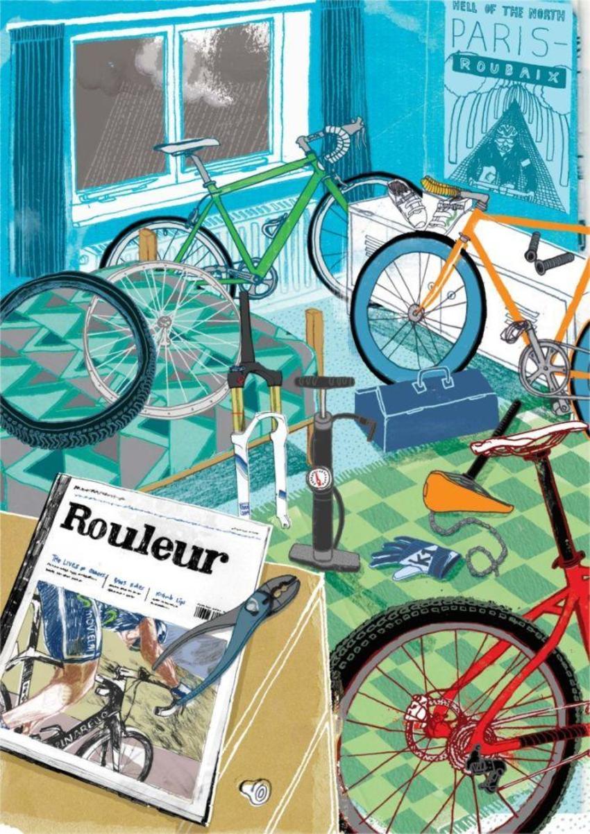 Bike Bedroom