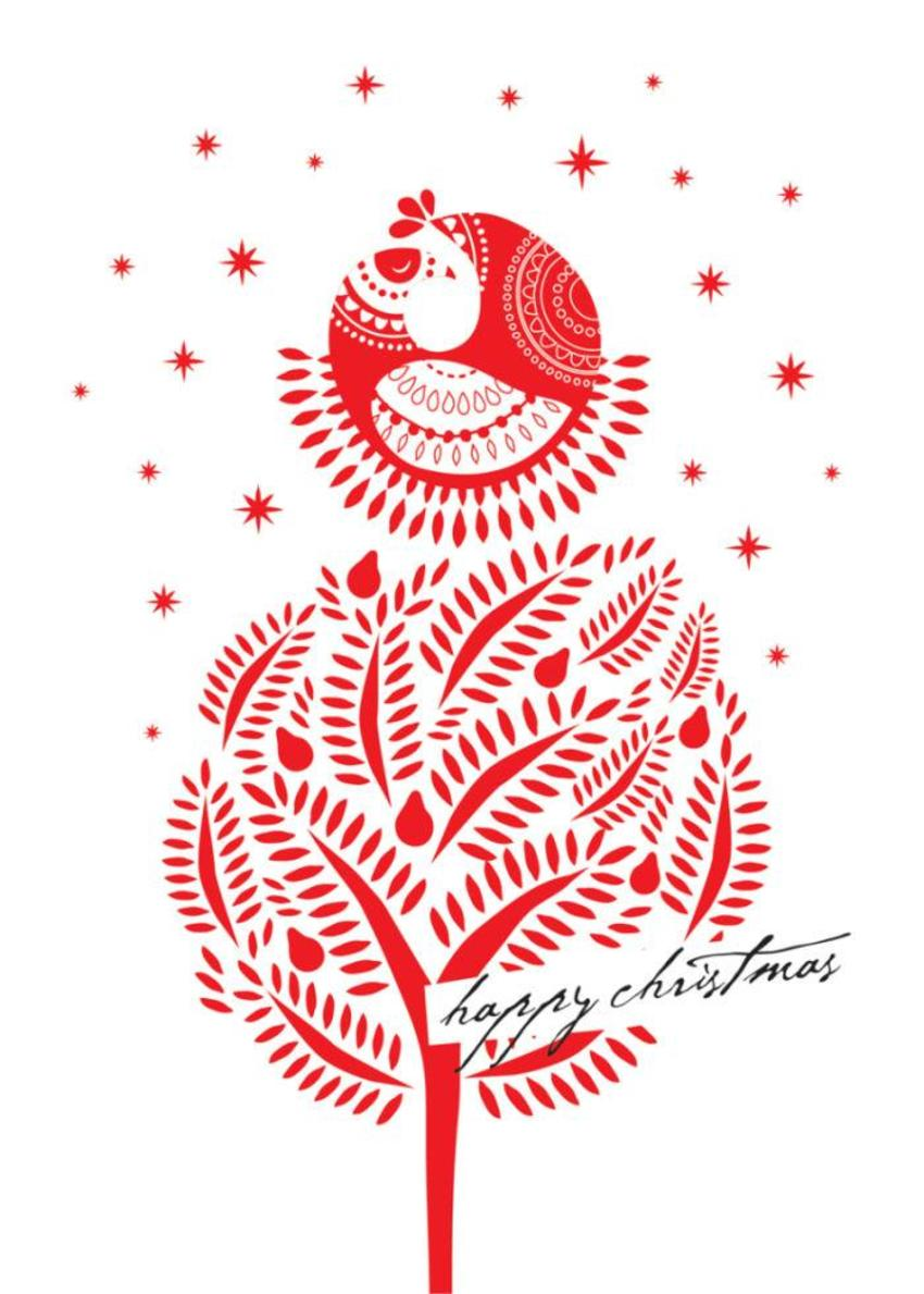 Christmas Partridge In A Pear Tree Bird In Pear Tree