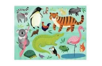 animalsoftheworld-puzzle