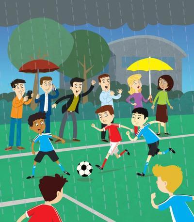 kids-football-rain