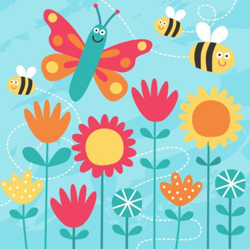 Animals_bees_butterflies
