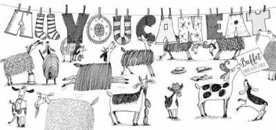 b-w-goats