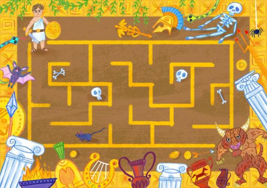 Greek Maze