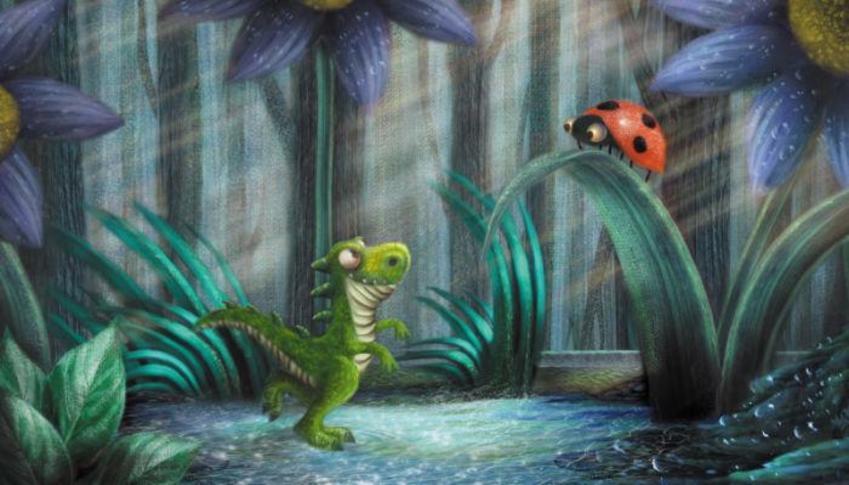Tiny-saurus And Ladybird