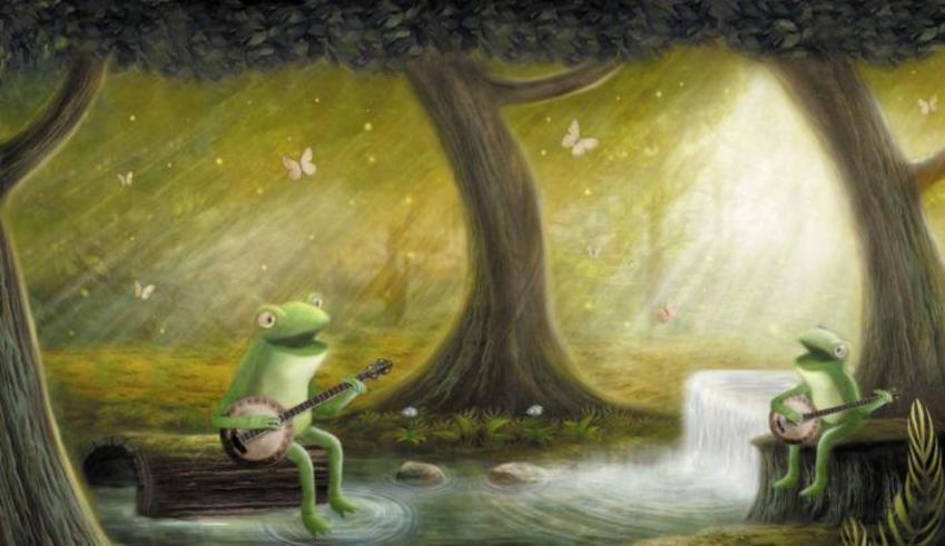Frogs Banjo