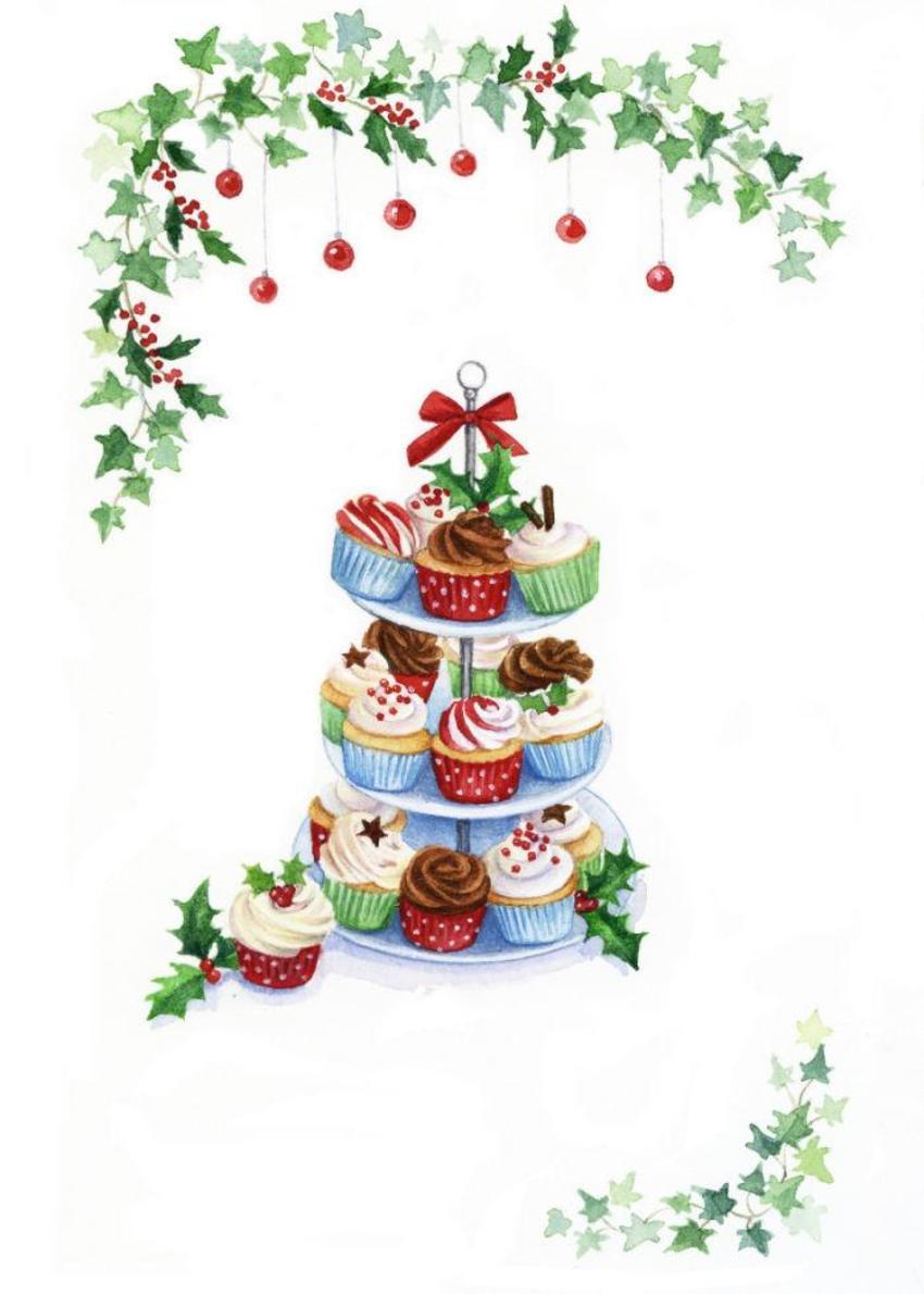 LA - Christmas Cupcakes Copy