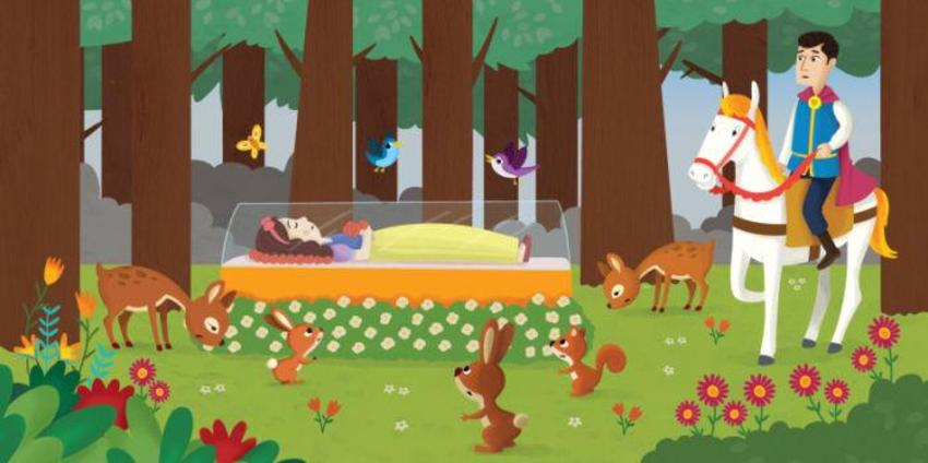 SNOW WHITE - PRINCE - FOREST- ANIMALS