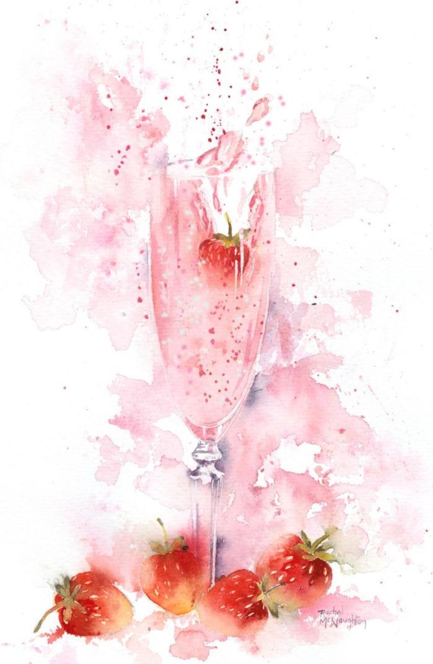 Strawb Champagne