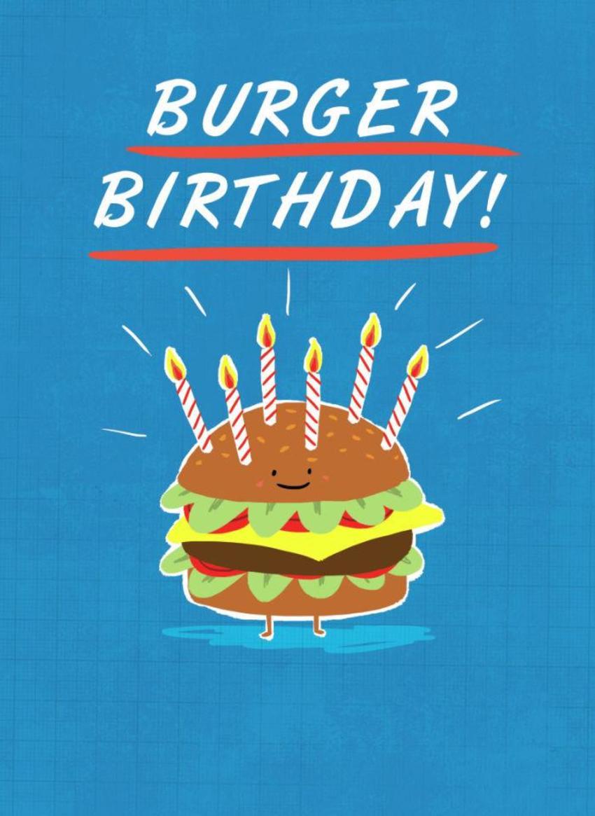 Burger Birthday