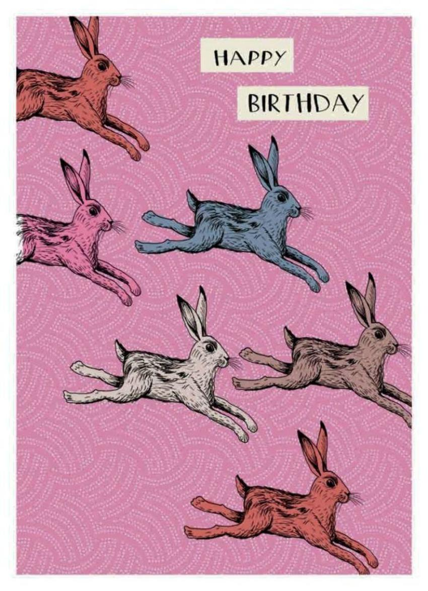 Rabbits G Card