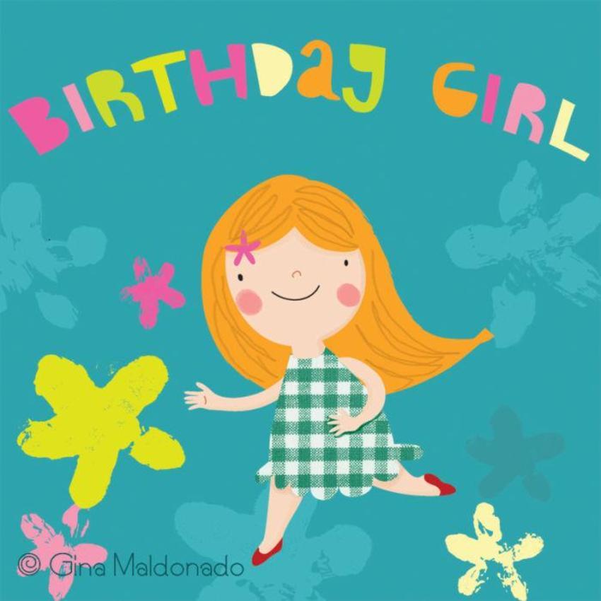 Birthday Girl Card - GM