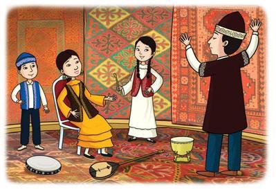 kids-music-instruments-kazakhstan