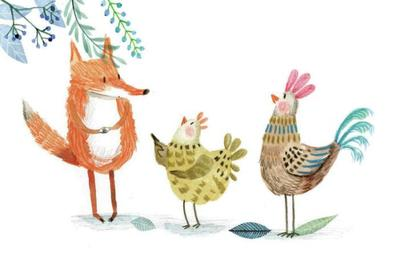 fox-and-hens