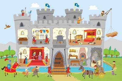 sticker-book-castles-knights-english