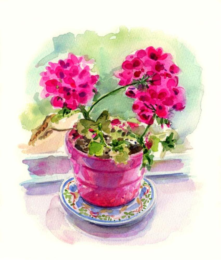 Corke Greetings Card Floral Copy