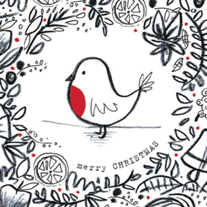 Robin Paperchase Card
