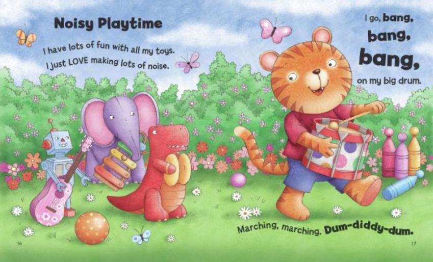 Noisy Playtime Pages 16-17