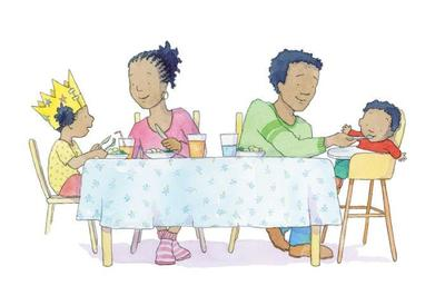 claire-keay-african-american-family-at-table