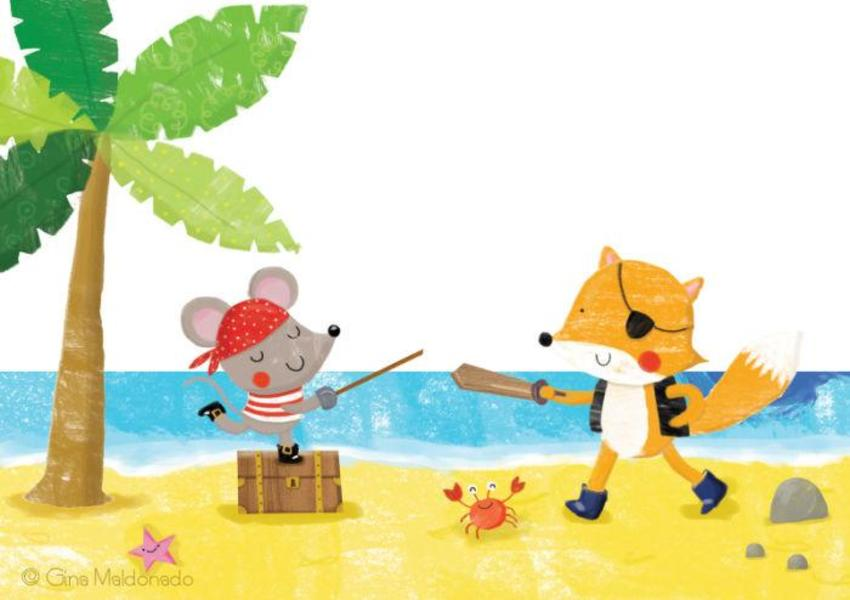 Mouse And Fox Pirates - GM