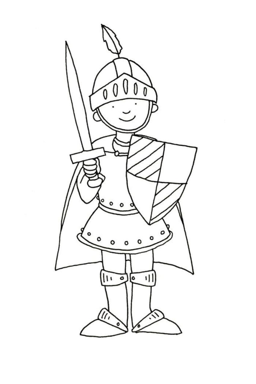 Феи, картинки рыцаря в доспехах для детей