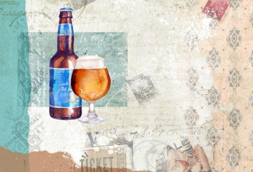 BEER & GLASS FINISHED ART.psd