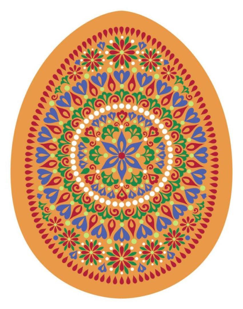 Egg Orange 5