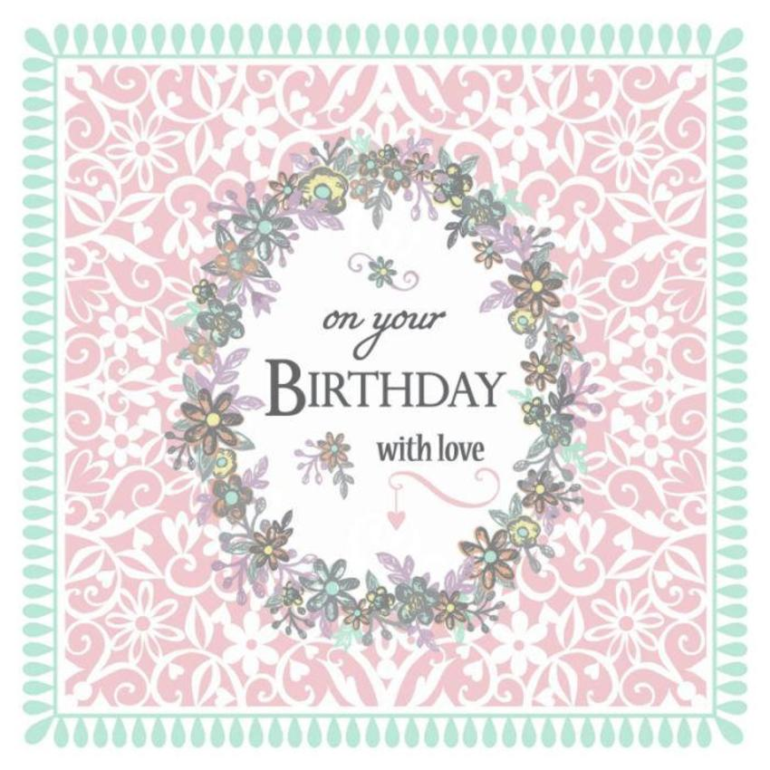 Pastel And White Birthday