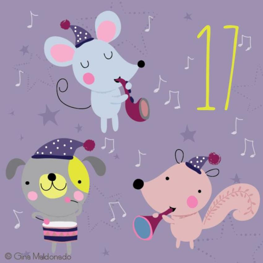 17 - Animals Playing Instruments - GM