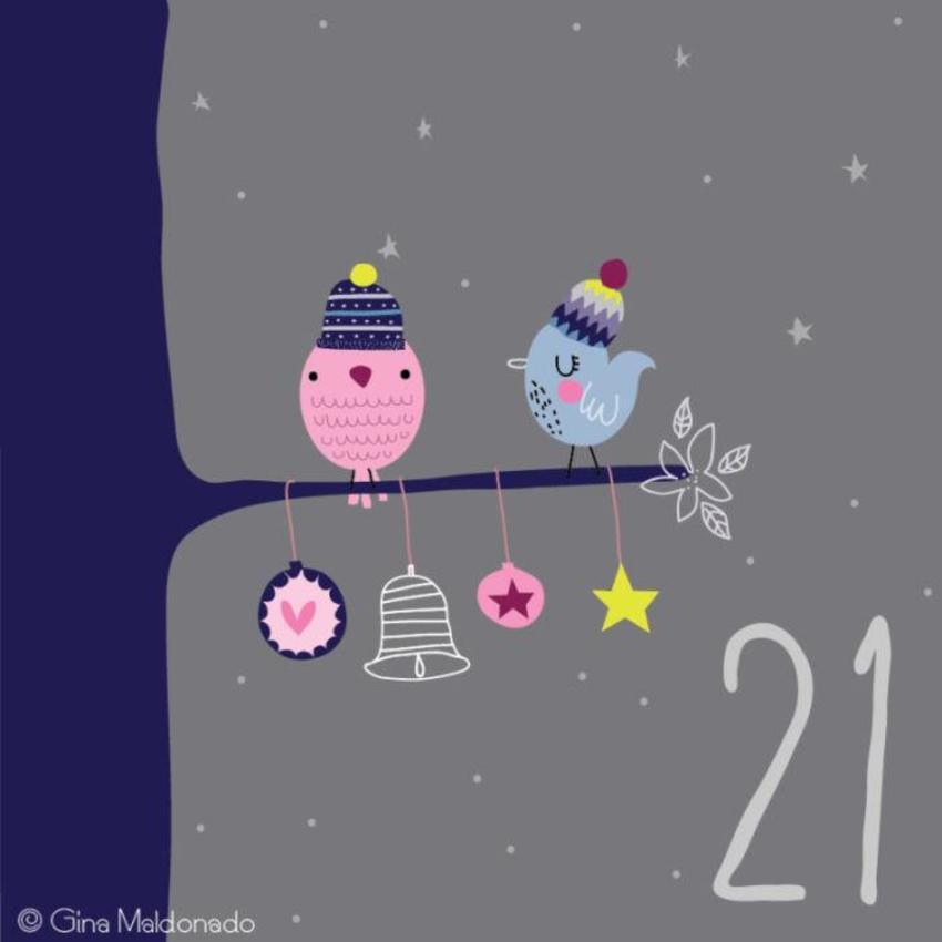 21 - Birds On Tree - GM
