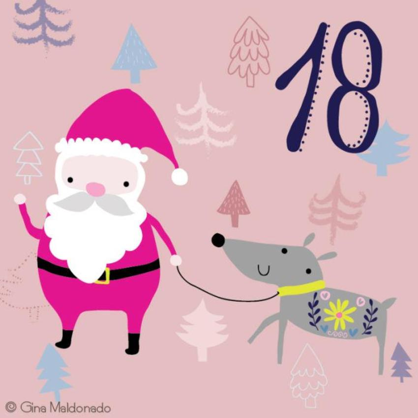 18 - Noel With Reindeer - GM