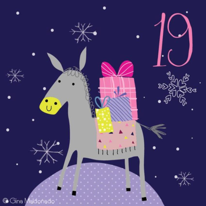 19 - Donkey With Presents - GM
