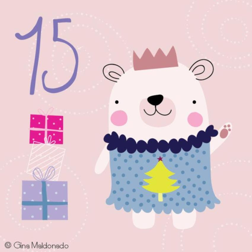 15 - Bear And Presents -GM