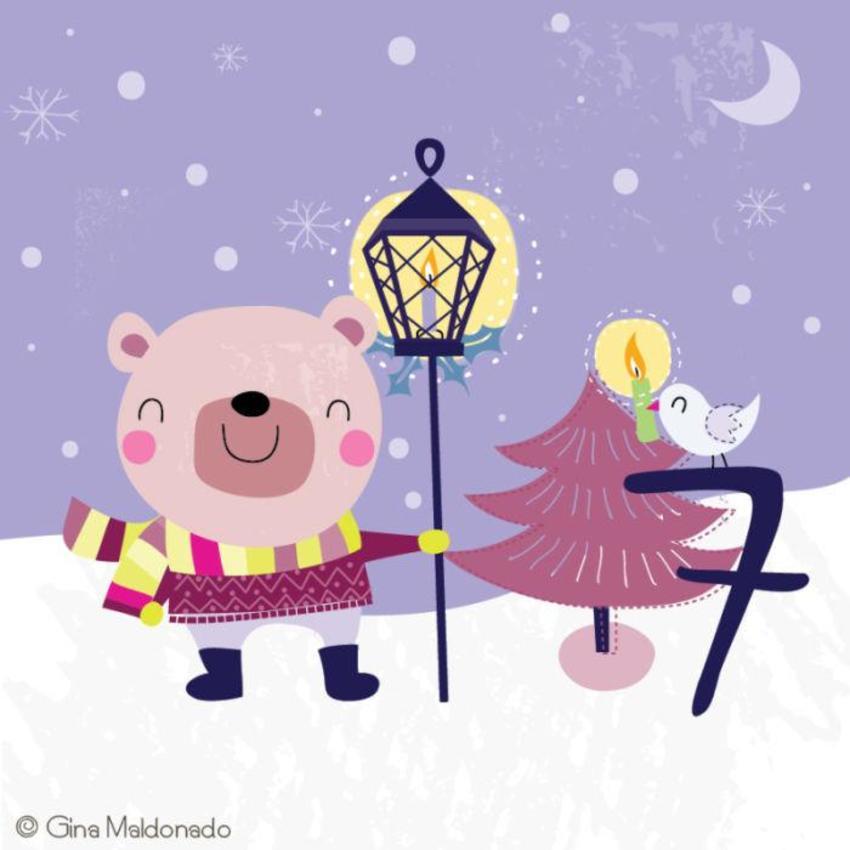7  - Bear With Lantern - GM
