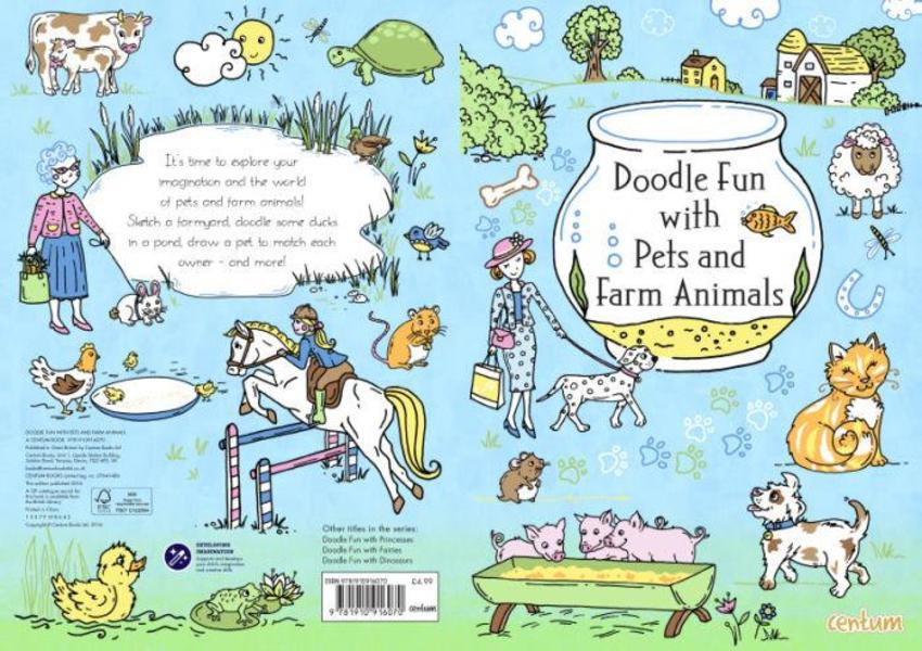 Doodle Fun With Farm Animals COVER
