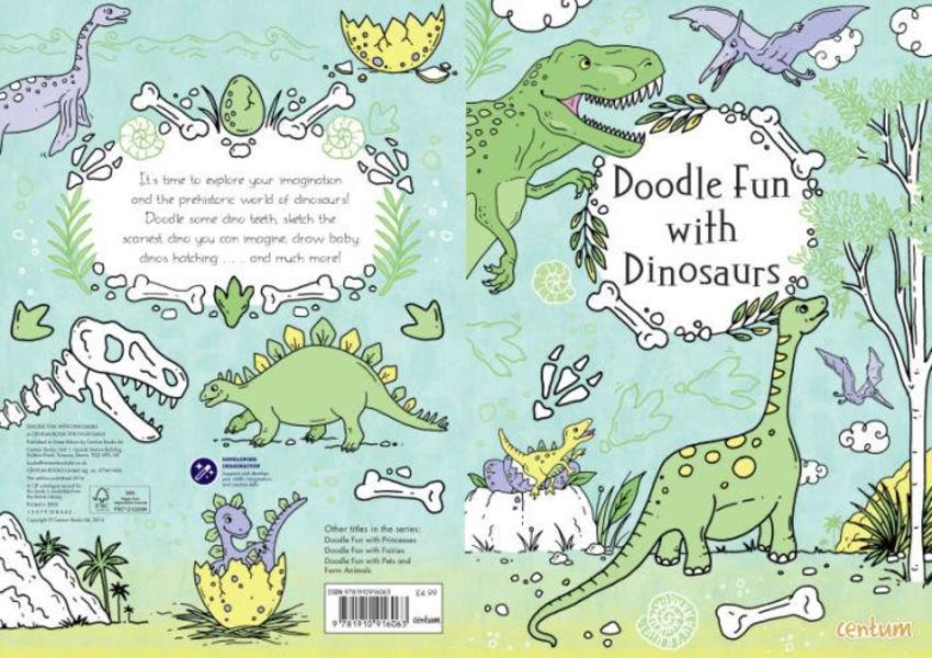 Doodle Fun With Dinosaurs COVER