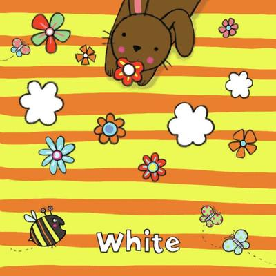 white-rabbit-with-flowers-psd