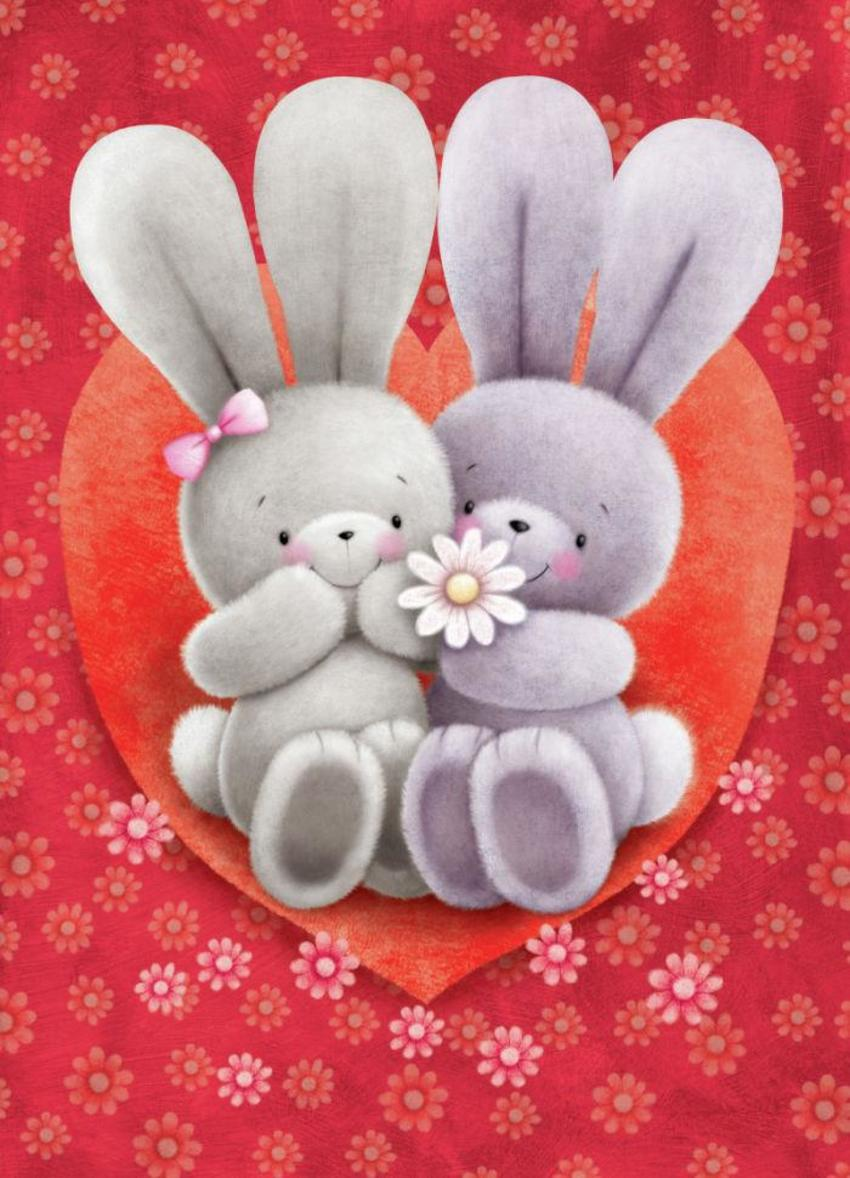 Rabbits In Heart