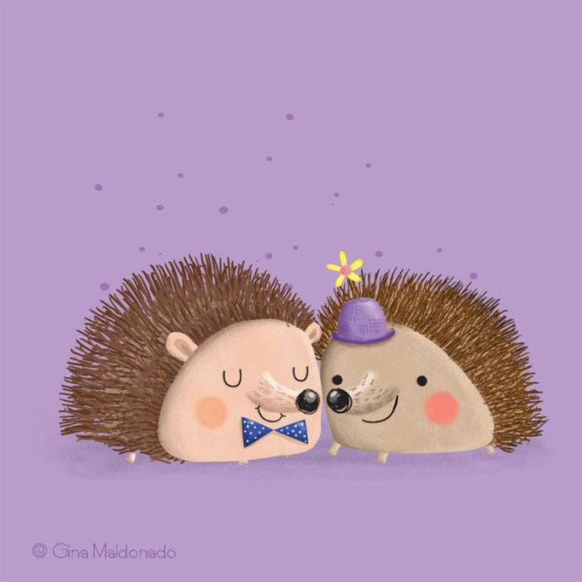Couple Of Hedgehogs - GM