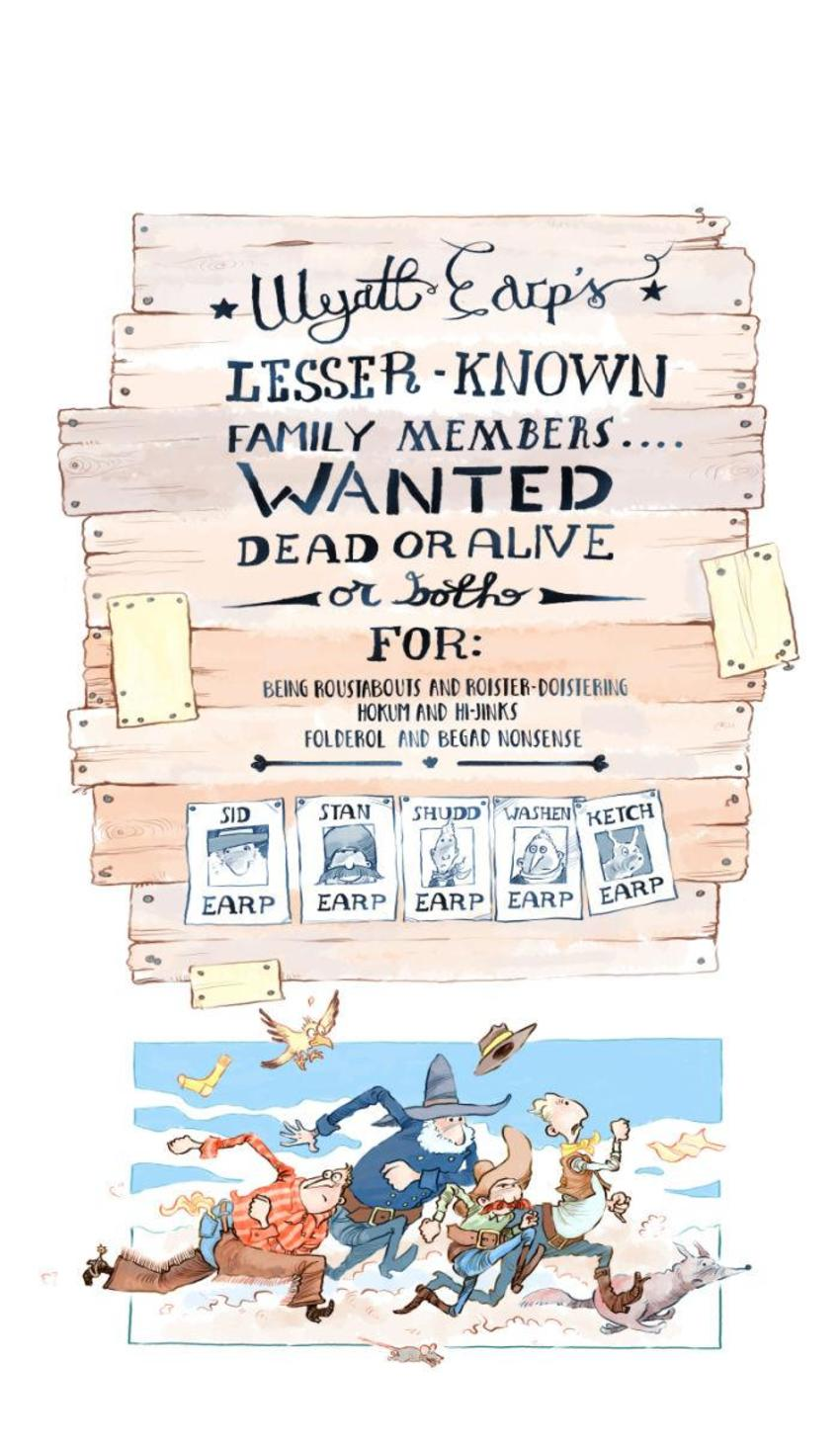 Jon Davis - Cowboys, Wanted Posters, Running, Posse, Text-01 Copy
