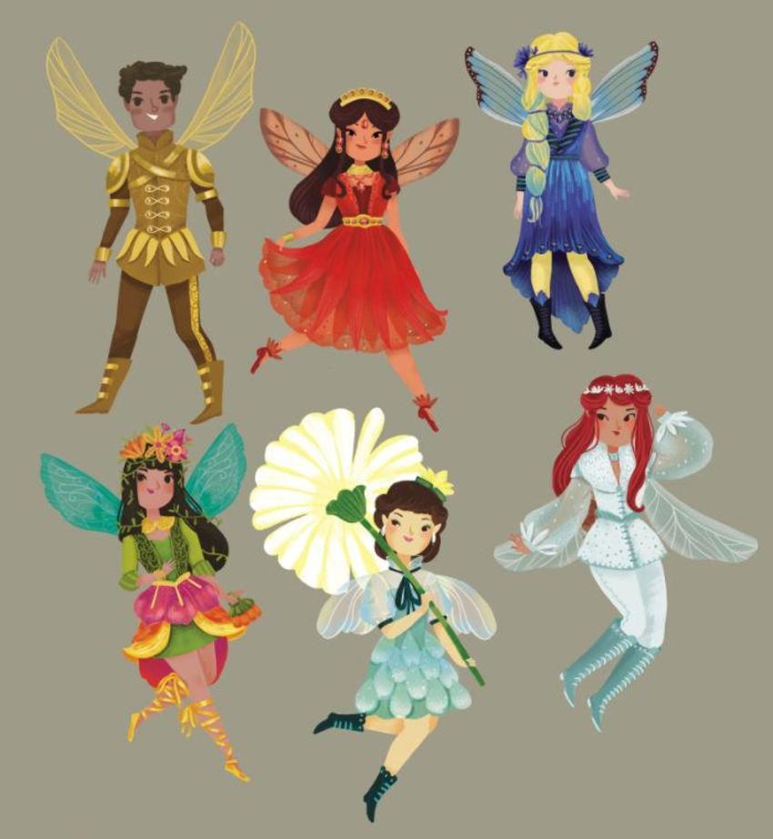 Fantastical Fairies Characters 1